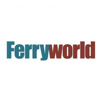 free vector Ferryworld