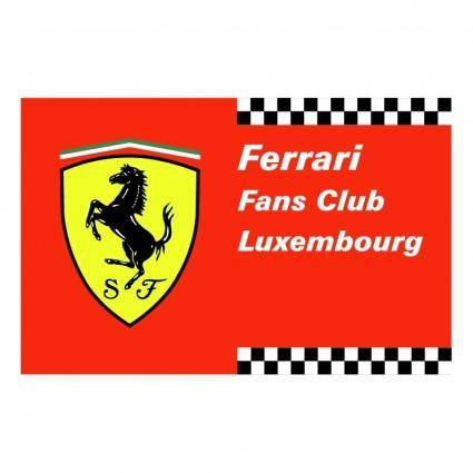 free vector Ferrari fans club luxembourg