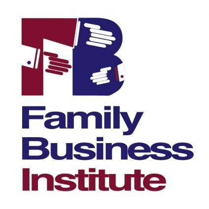 free vector Family business institute