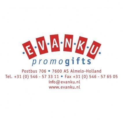 free vector Evanku promogifts