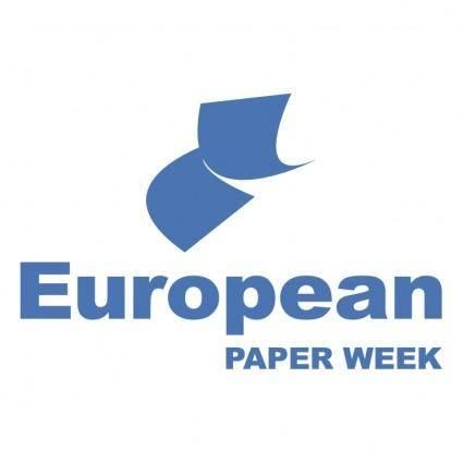 European paper week