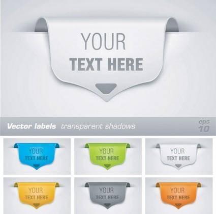 free vector Edge of beautiful decorative paper vector