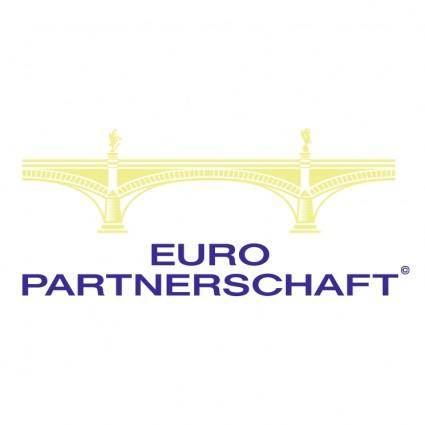 free vector Euro partnerschaft