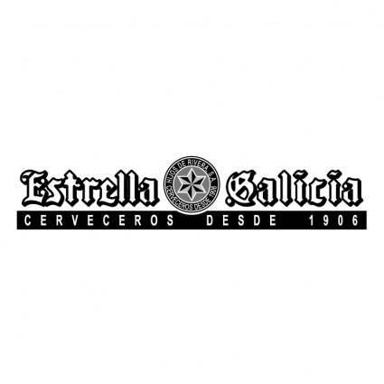 free vector Estrella galicia