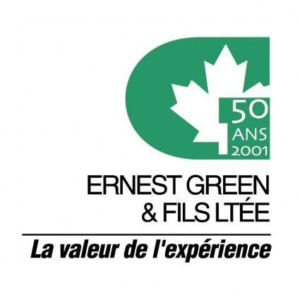 Ernest green fils ltee