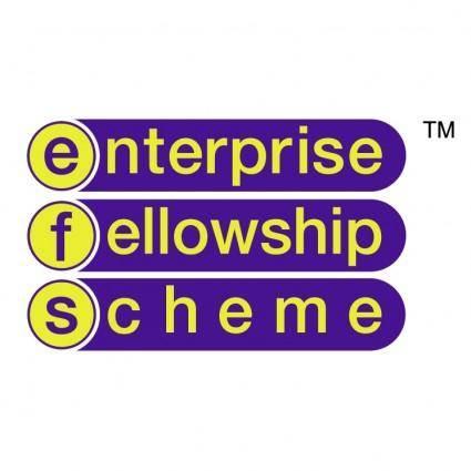 free vector Enterprise fellowship scheme