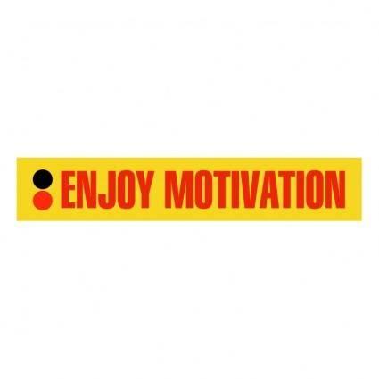free vector Enjoy motivation