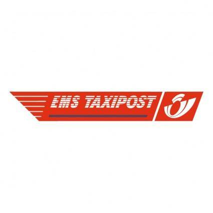 free vector Ems taxipost