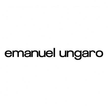 free vector Emanuel ungaro