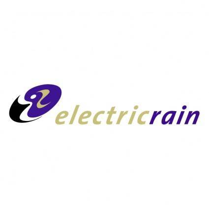 free vector Electric rain