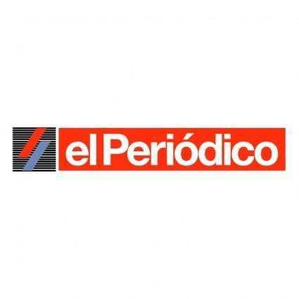 free vector El periodico