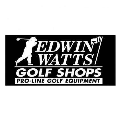 Edwin watts golf shop