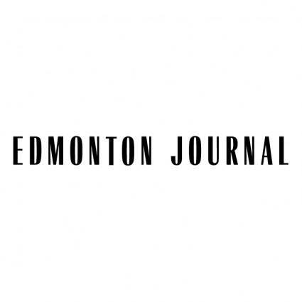 free vector Edmonton journal 0