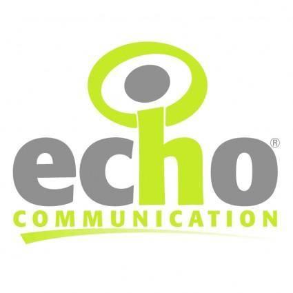 Echo communication