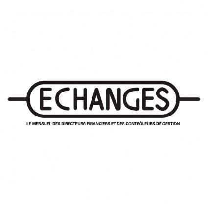 free vector Echanges