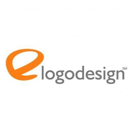 free vector E logo design