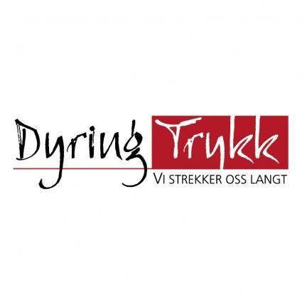 free vector Dyring trykk