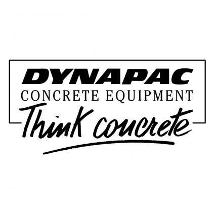 free vector Dynapac concrete equipment