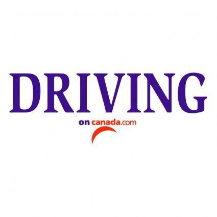 free vector Driving on canadacom