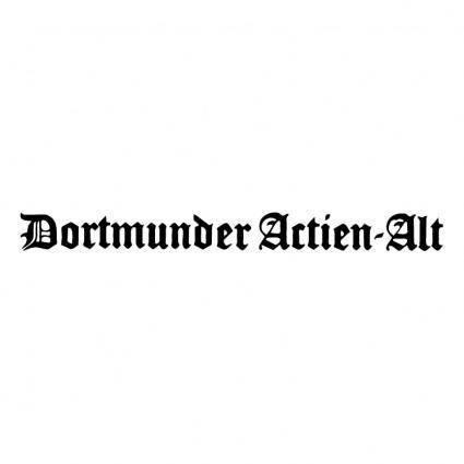 Dortmunder actien alt