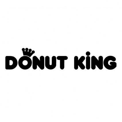 free vector Donut king