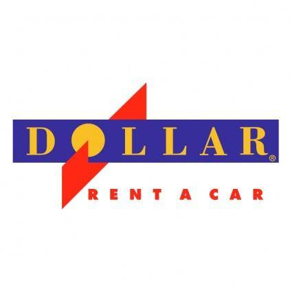 free vector Dollar rent a car 1