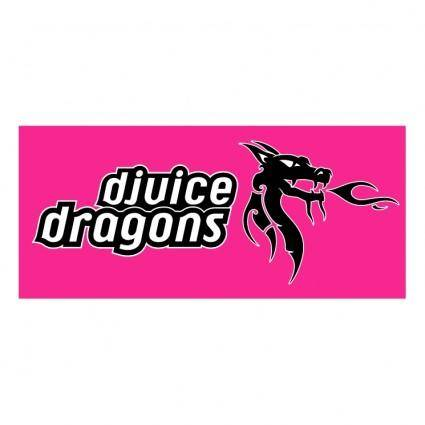 free vector Djuice dragons