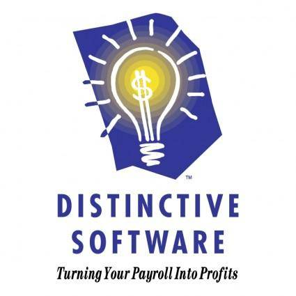 Distinctive software
