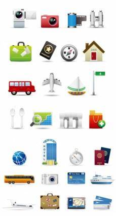 2 travel theme vector