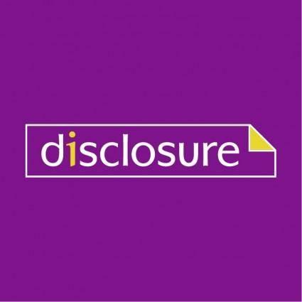 free vector Disclosure