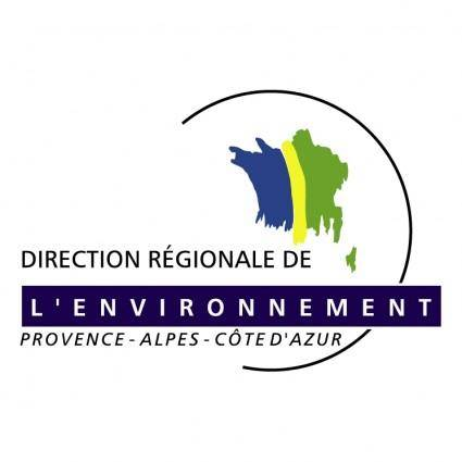 free vector Direction regionale de levironnement