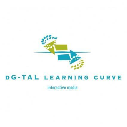 free vector Dg tal learning curve