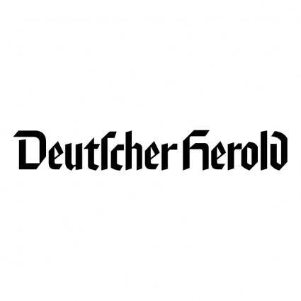 free vector Deutscher herold