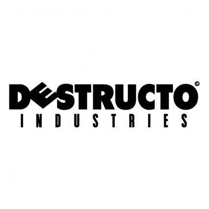 free vector Destructo industries