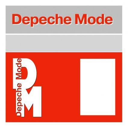 free vector Depeche mode