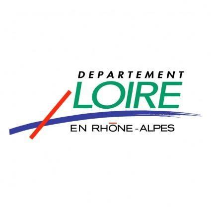 free vector Departement loire en rhone alpes
