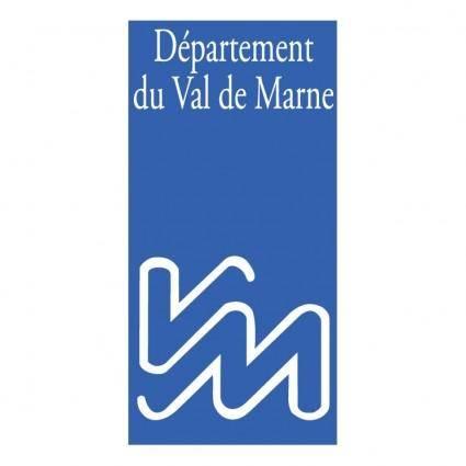 free vector Departement du val de marne