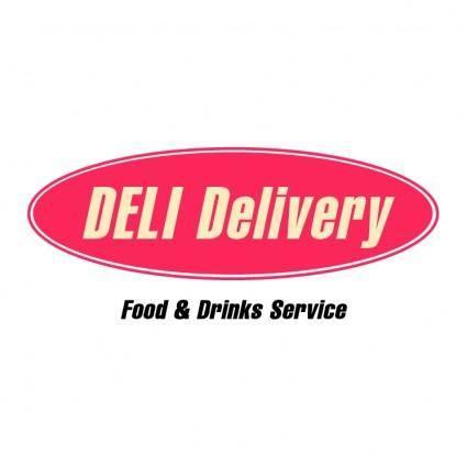 free vector Deli delivery
