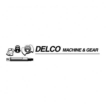 Delco machine gear