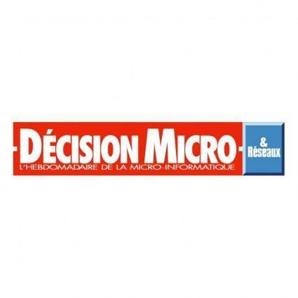 Decision micro reseaux