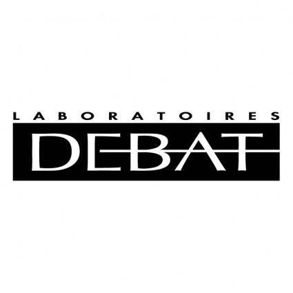 Debat laboratoires