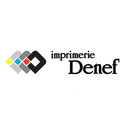 free vector Ddd imprimerie denef