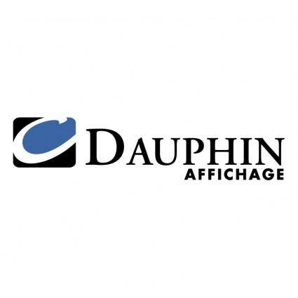 free vector Dauphin affichage