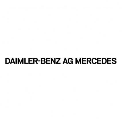 Daimler benz ag mercedes