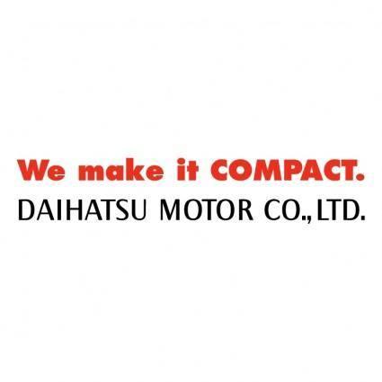 Daihatsu motor