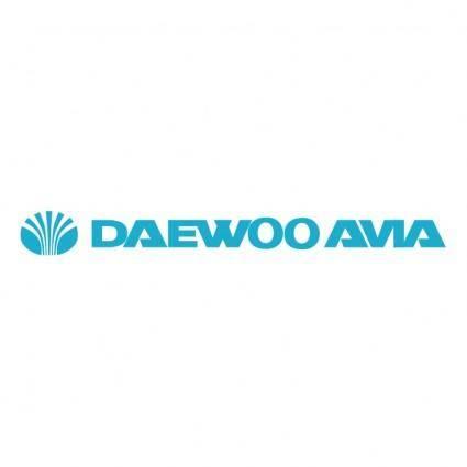 free vector Daewoo avia