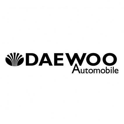 free vector Daewoo automobile