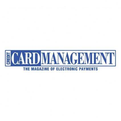 free vector Credit card management