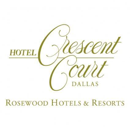 free vector Crecent court hotel
