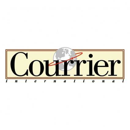 free vector Courrier international